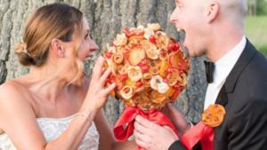 Il pizza bouquet
