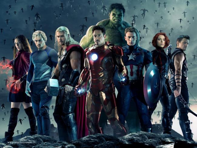 Cast di Age of Ultron con tutti i Vendicatori
