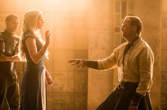 Daenerys e Ser Jorah si separano