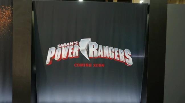 Il nuovo logo del film dei Power Rangers in uscita nel 2017