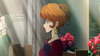 Fujiko assiste al matrimonio di Lupin