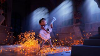 Emozioni e musica nella prima immagine del film Coco
