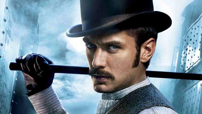 Jude Law nei panni del Dottor Watson in Sherlock Holmes