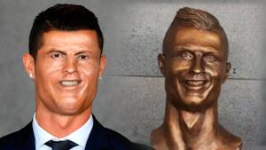 Cristiano Ronaldo e l'orribile busto