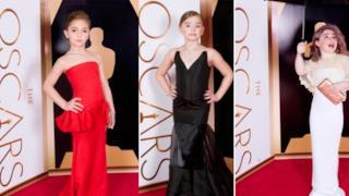 Oscar 2014: bambini e artisti vestiti allo stesso modo