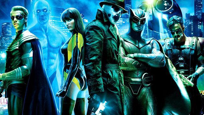 I Watchmen nel film di Snyder