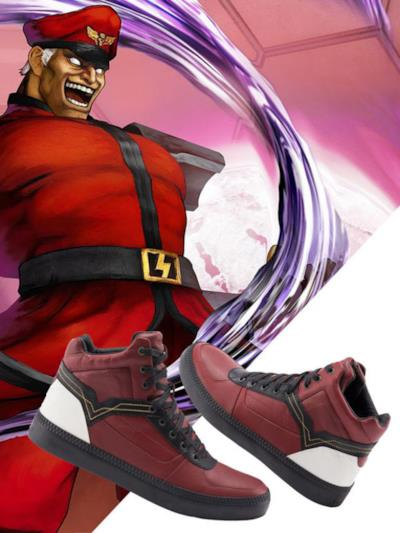 Le scarpe di Street Fighter ispirate da Bison
