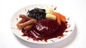 Uno dei macabri piatti del menù dedicato a Tokyo Ghoul