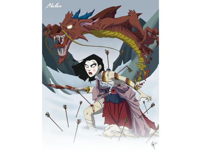 Mulan in versione sovrannaturale
