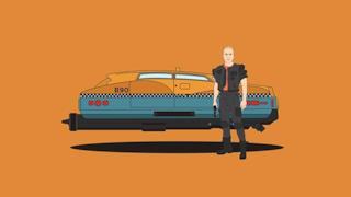 L'auto di Bruce Willis nel film