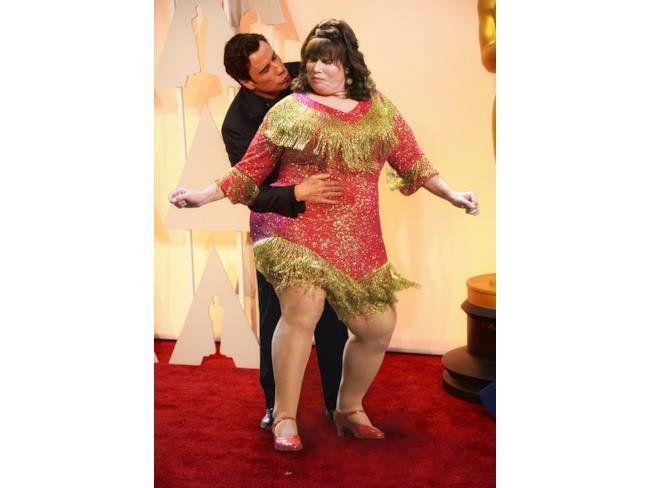 John Travolta e il bacio a sé stesso in Hairspray