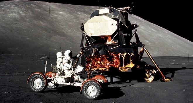 Il famoso rover lunare Apollo 17