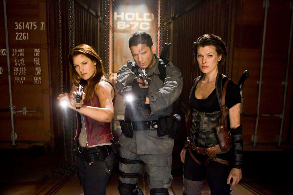 Il cast dei precedenti capitoli di Resident Evil