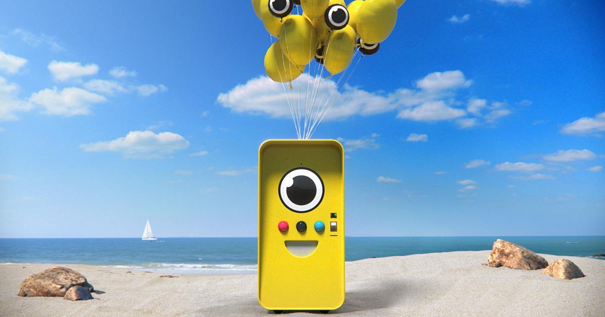 Esempio di Snapbot in una spiaggia d'orata.