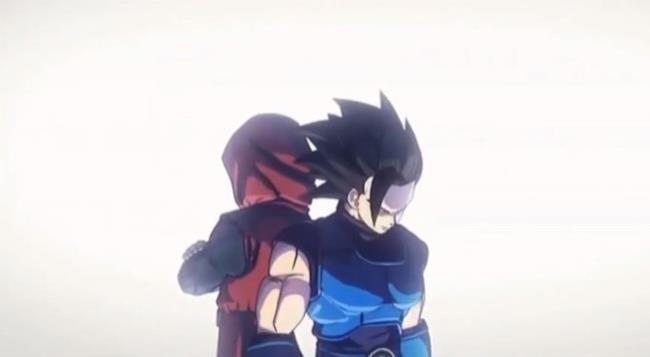 L'immagine dei due personaggi