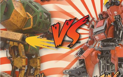 Chi vincerà il primo scontro tra veri robot giganti?