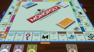 La foto del tabellone del gioco da tavolo