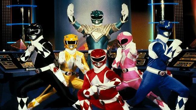 I nuovi Power Rangers arriveranno nel 2017