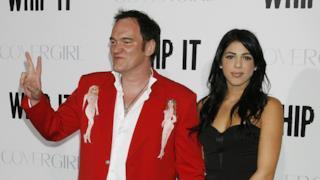 Tarantino e la sua compagna