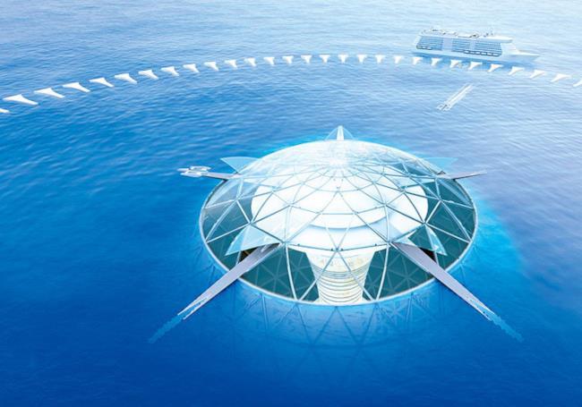 Le città sottomarine giapponesi