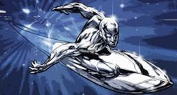 Silver Surfer nel film I Fantastici 4 e Silver Surfer
