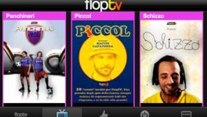 iPhone, iPad e Windows Phone 7: le nuove app FlopTV per ridere sempre!
