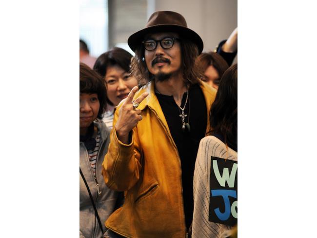 Sosia giapponese di Johnny Depp