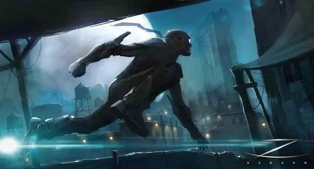 Lo Zorro post-apocalittico in una concept art del 2013
