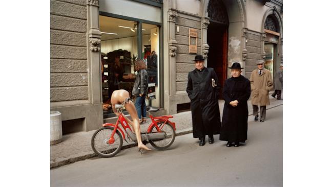 Foto di Reggio Emilia nel 1983
