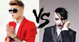 Justin Bieber vs Marilyn Manson