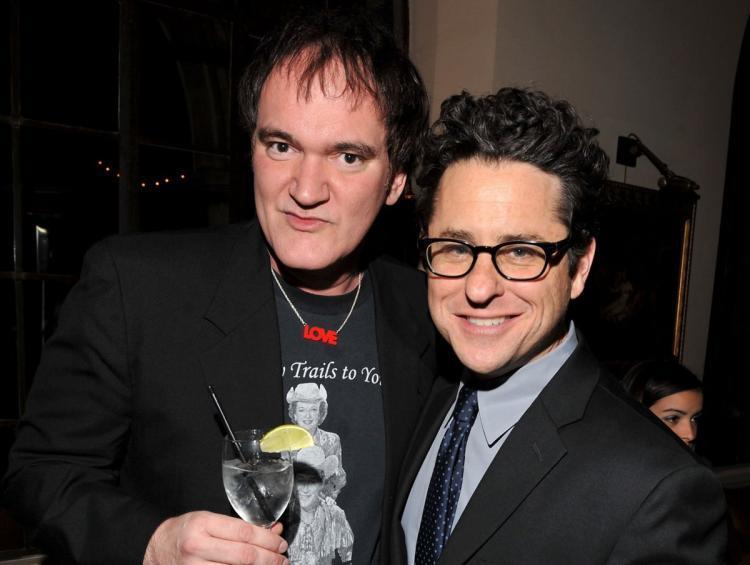 Tarantino e Abrams in posa