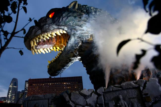 il mostro Godzilla
