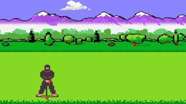 Un videogioco sul golf - un esempio di giochi che potrebbero approdare alle Olimpiadi del 2024.