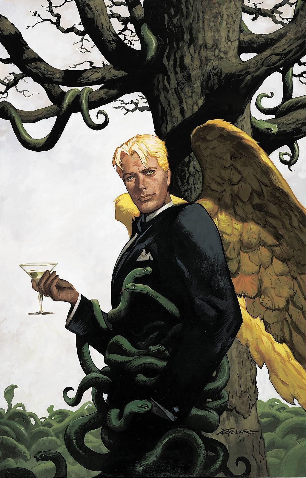 Una copertina del fumetto di Lucifer