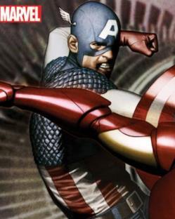 Con Capitan America!