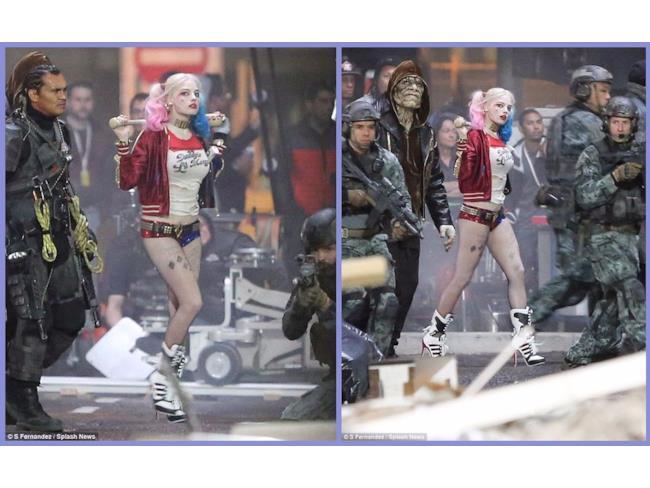 Una delle prime immagini di Harley Quinn