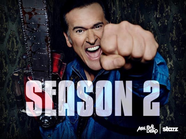 Ash vs Evil Dead torna per una stagione 2 di 10 episodi