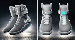 Nike lancia le Air Mag, le scarpe che si allacciano da sole