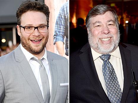 Seth Rogen e Steve Wozniak
