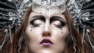 Regina d'argento che dorme