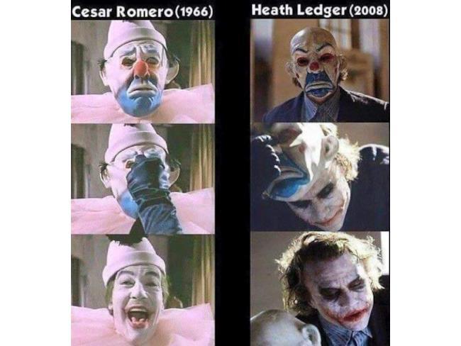 Due Joker del cinema diversi