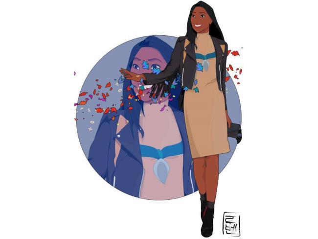 Pocahontas nel mondo moderno