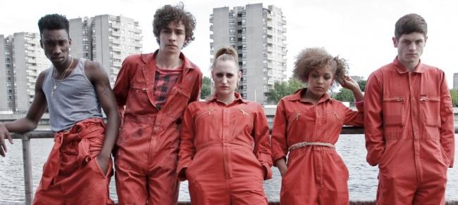 Il cast britannico della serie TV