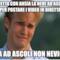 Aspetta con ansia la neve ad Ascoli per postare i video in diretta Ma ad Ascoli non nevica