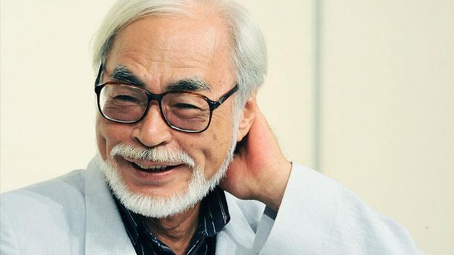 Hayao Miyazaki in una recente apparizione