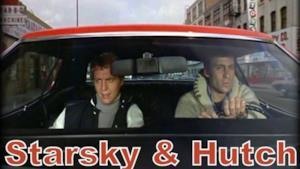 Starsky & Hutch a bordo della loro auto