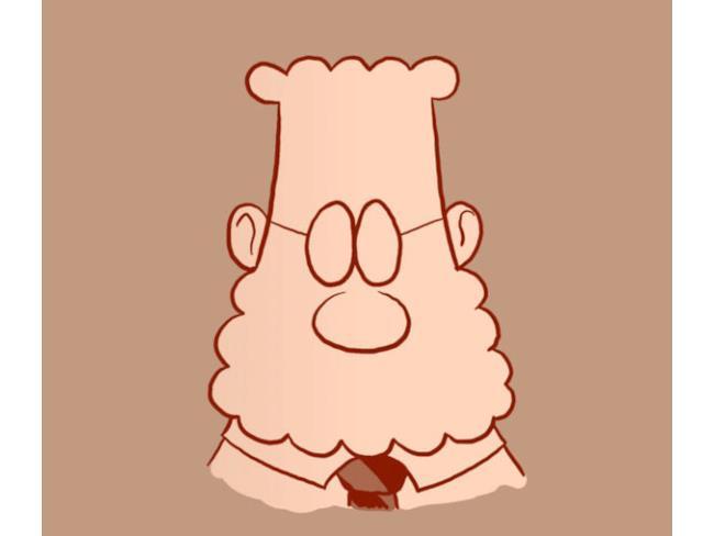 Dilbert barbuto