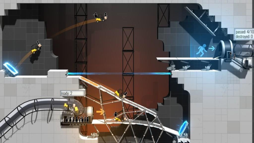 Uno screenshot di Bridge Constructor Portal