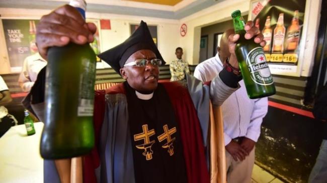 il vescovo della Gabola Church