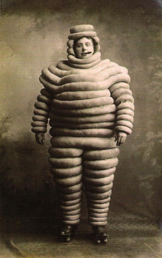 Immagine che raffigura l'uomo Michelin originale